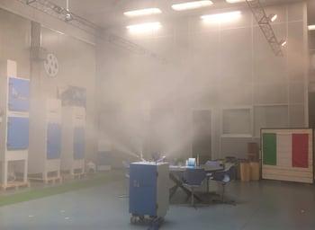 Dry Fog in saturazione