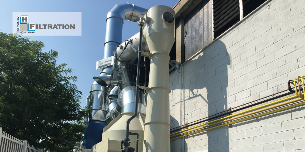 VOC Filtration Systems: Scrubbers or Washing Towers